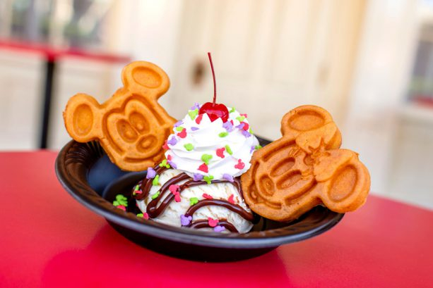 Guloseimas temáticas no Magic Kingdom da Disney Orlando: Waffles do Mickey e da Minnie