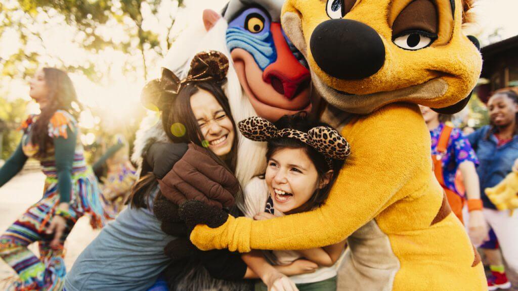 Circle of Flavors: Harambe at Night no Animal Kingdom da Disney Orlando: Rafiki e Timão