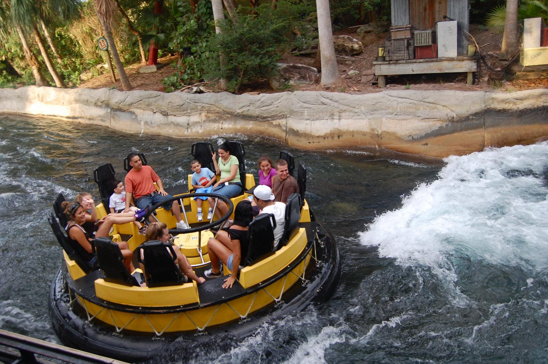 Parque Busch Gardens em Tampa: Congo River Rapids