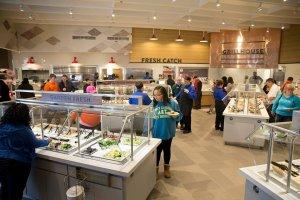 Restaurante Golden Corral em Orlando: buffet
