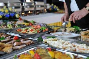 Restaurante Golden Corral em Orlando: comidas