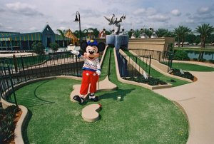 Disney's Fantasia Gardens e Fairways Miniature Golf em Orlando: Mickey