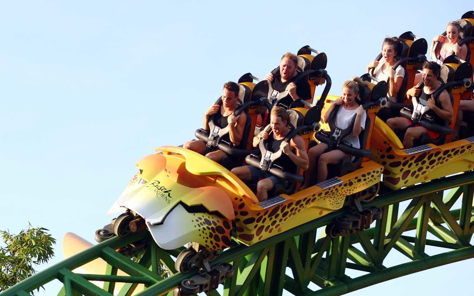 Brinquedos e atrações em manutenção em Orlando em 2020: Cheetah Hunt no parque Busch Gardens