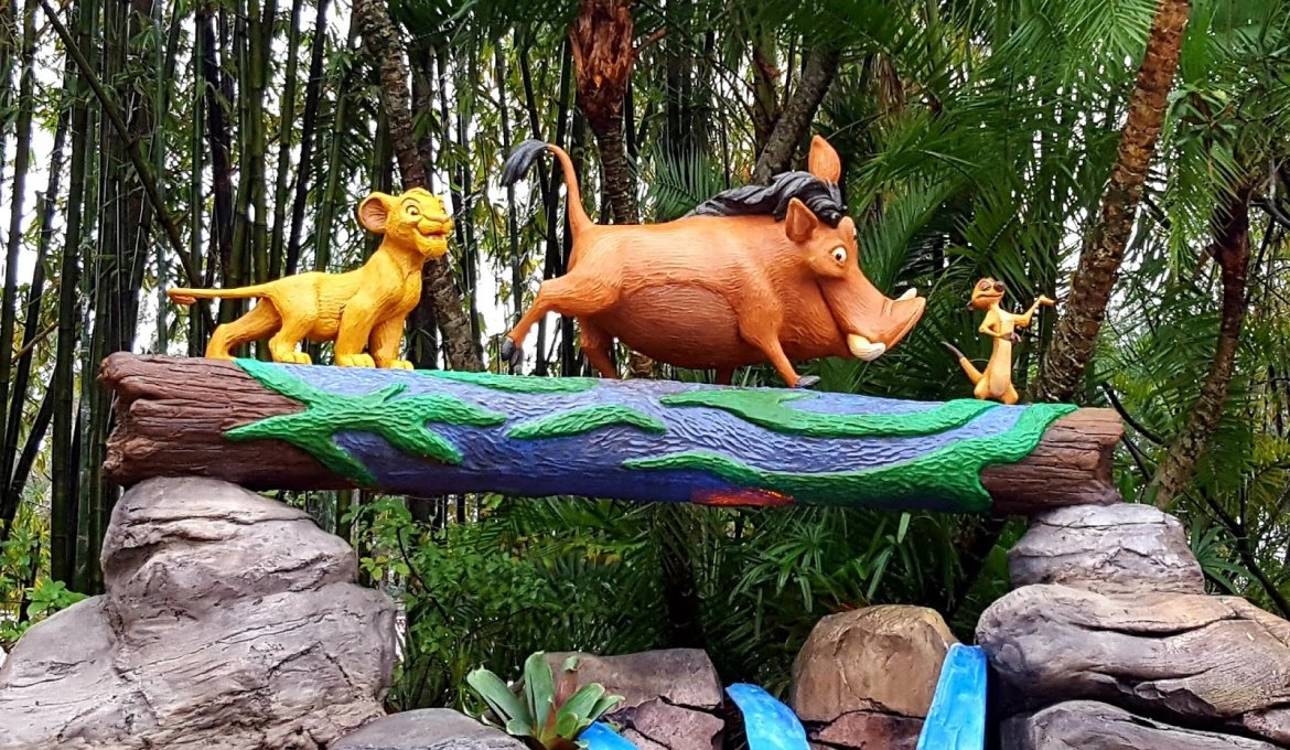O Rei Leão no Animal Kingdom da Disney Orlando