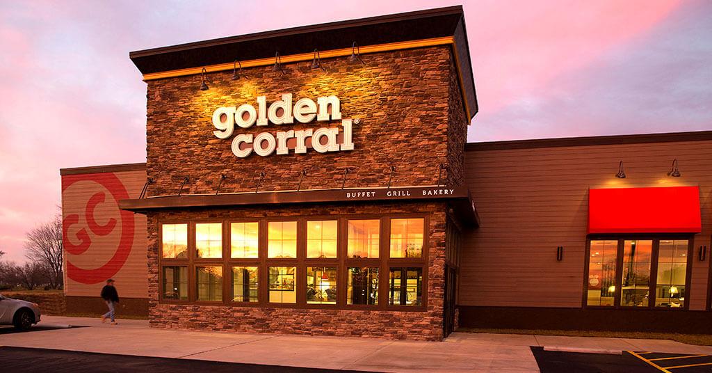 Restaurante Golden Corral em Orlando