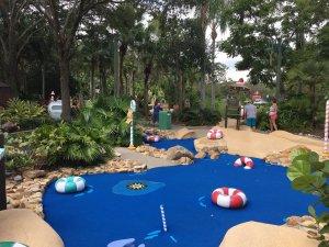 Winter Summerland Miniature Golf em Orlando: Summer Course