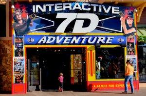 7D Dark Ride Adventure em Orlando
