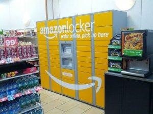 Como receber suas compras online com o Amazon Locker em Orlando: armário