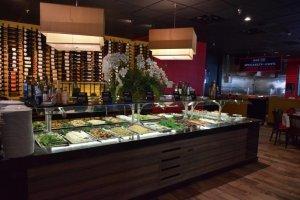 Restaurante Black Fire em Orlando: buffet
