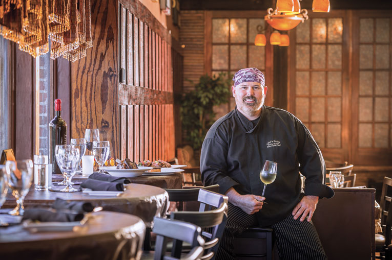 Restaurante Chef's Table at the Edgewater em Orlando: Chef Kevin Tarter