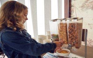 Café da manhã com os Minions na Universal Orlando: comida