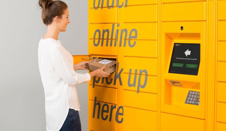 Como receber suas compras online com o Amazon Locker em Orlando