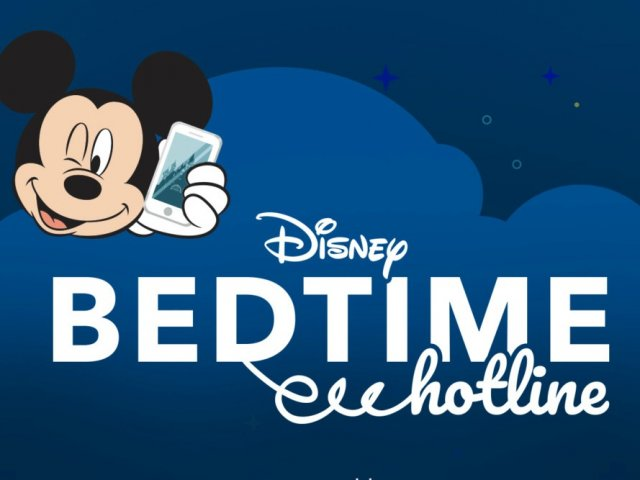 Como falar com personagens da Disney no Bedtime Hotline