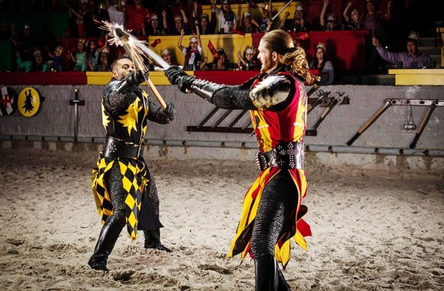 Medieval Times: jantar e duelo de cavaleiros em Orlando