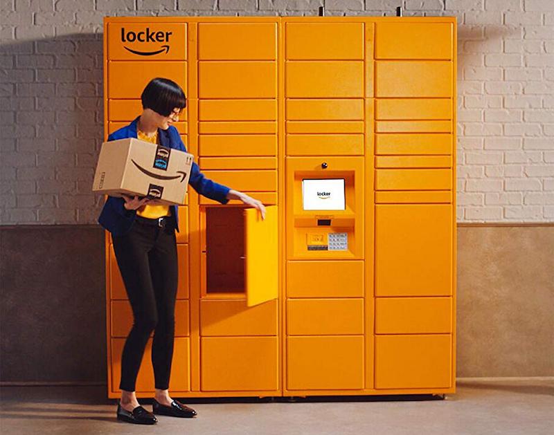 Como receber suas compras online com o Amazon Locker em Orlando: encomendas