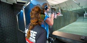 Estande de tiros Machine Gun America em Orlando: clube de tiro