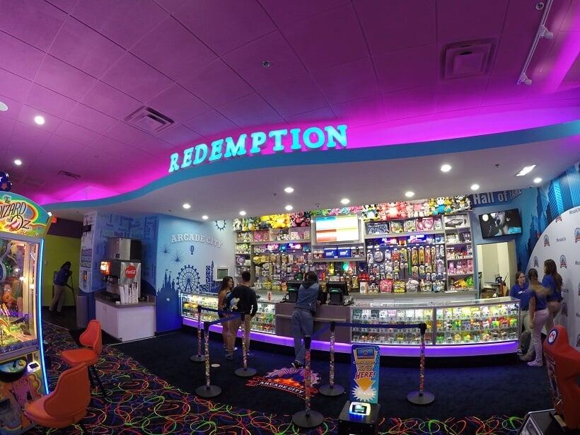 Arcade City em Orlando: interior