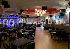 Restaurante Hard Rock Cafe em Miami: interior
