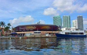 Restaurante Hard Rock Cafe em Miami: Bayside Marketplace