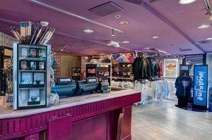 Restaurante Hard Rock Cafe em Miami: loja