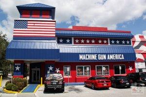 Estande de tiros Machine Gun America em Orlando