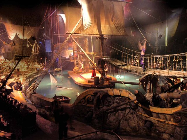 Jantar e show Pirate's Dinner Adventure em Orlando