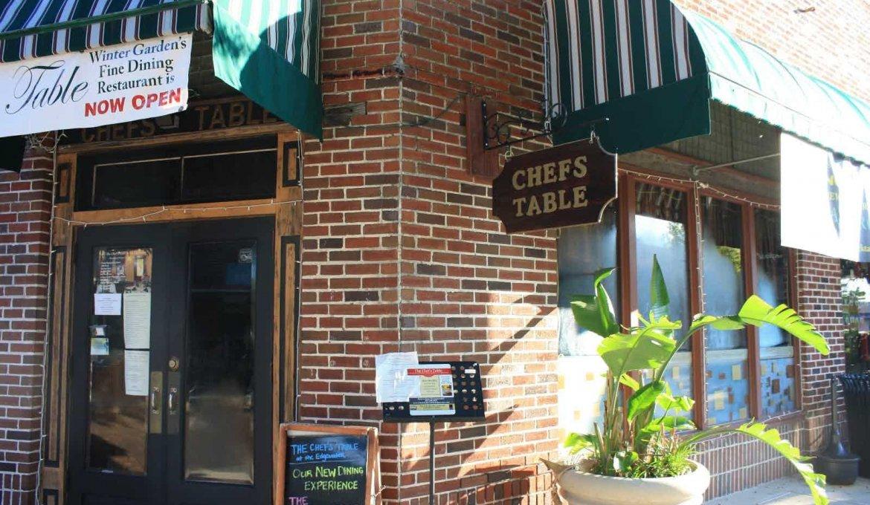 Restaurante Chef's Table at the Edgewater em Orlando