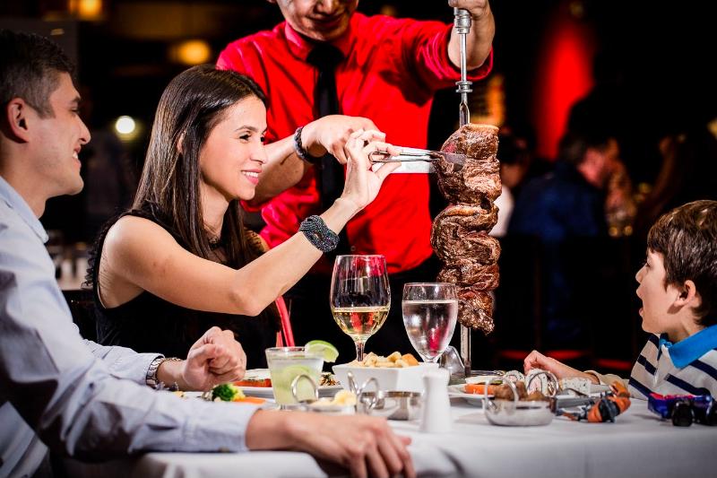 Restaurante Black Fire em Orlando: rodízio de carnes