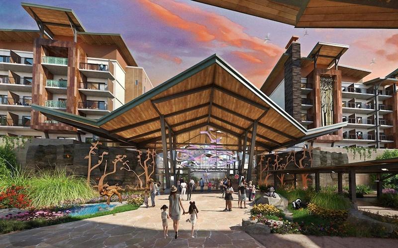Hotel Reflections: A Disney Lakeside Lodge em Orlando: ambiente