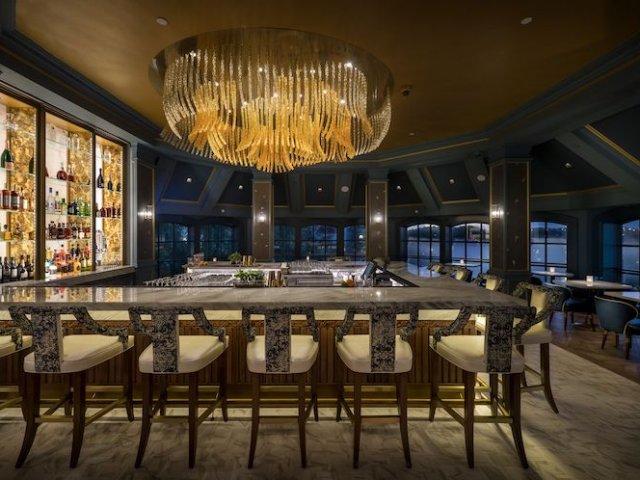 Lounge da Bela e a Fera no Disney's Grand Floridian em Orlando