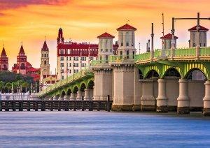 Pontos turísticos em Saint Augustine: construções históricas