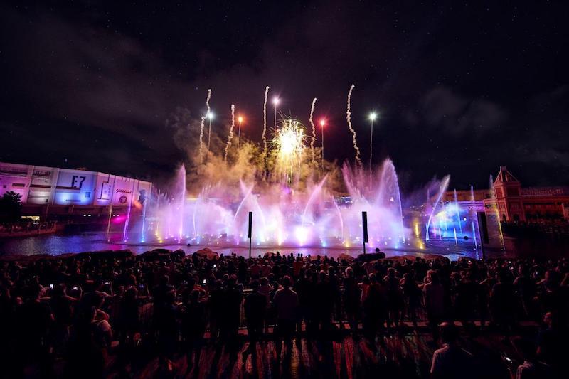 Festa de Réveillon EVE na Universal CityWalk em Orlando: pista de dança