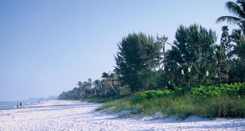Praias em Naples: praia Seagate Beach
