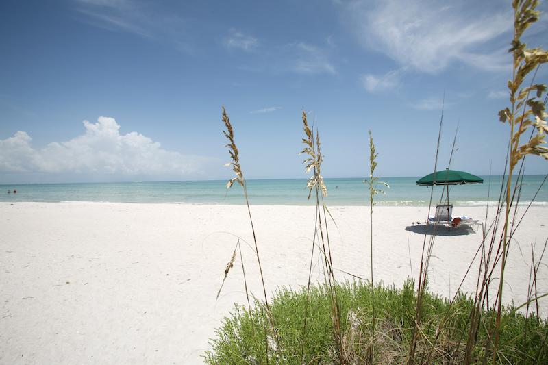 Praias em Naples: praia Vanderbilt Beach