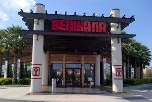 Restaurantes japoneses em Orlando: restaurante Benihana