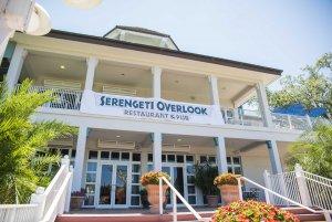 Alimentação saudável nos parques de Orlando: restaurante Serengeti Overlook
