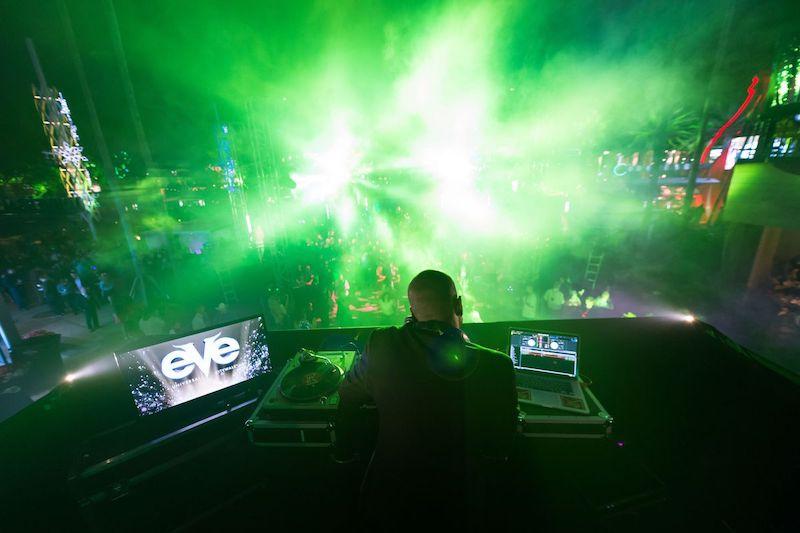 Festa de Réveillon EVE na Universal CityWalk em Orlando: shows e DJs