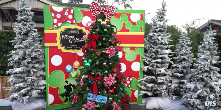 Natal na Disney Orlando em 2019: Christmas Tree Trail na Disney Springs