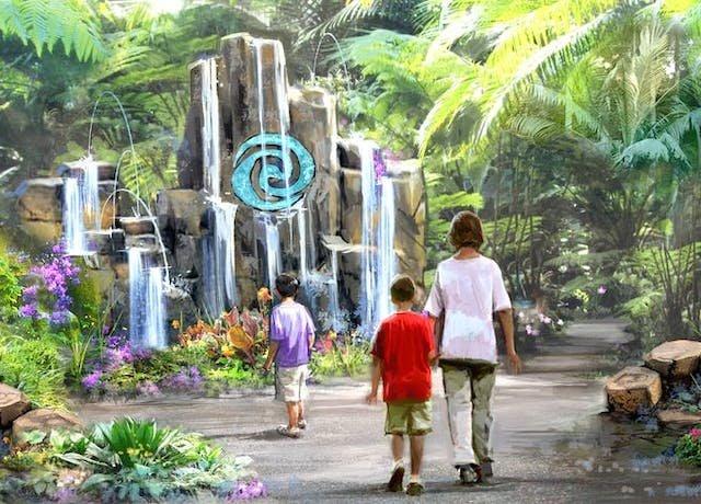 Atração de Moana no Epcot da Disney Orlando: Journey of Water