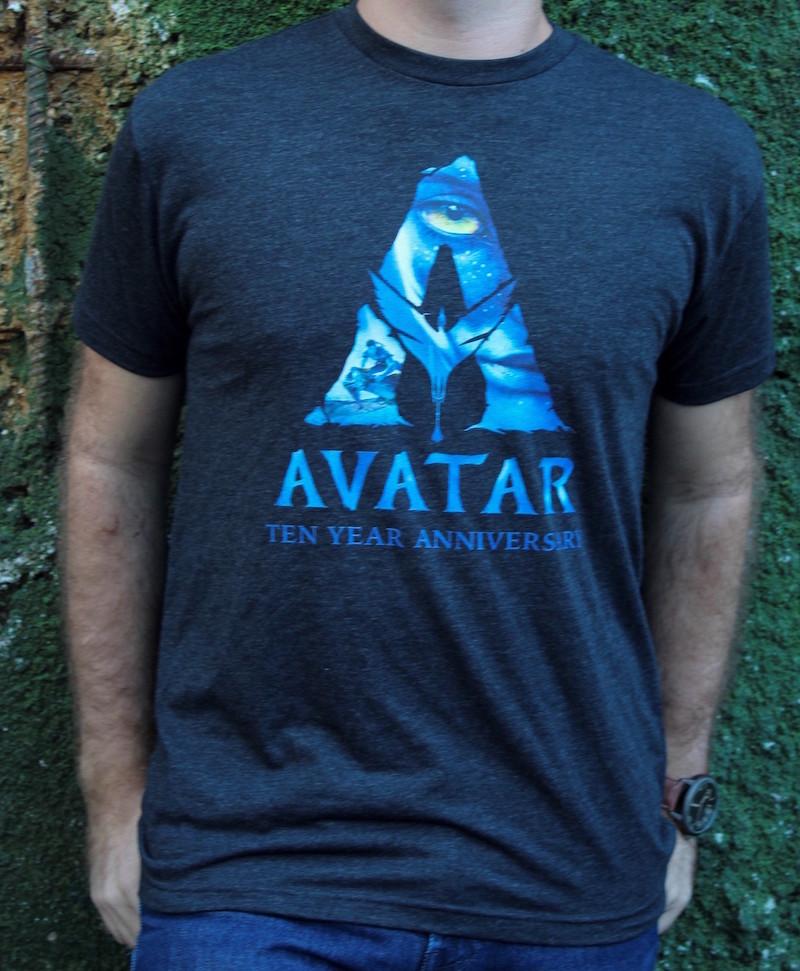 Novos produtos de Avatar na Disney Orlando: camiseta de Avatar