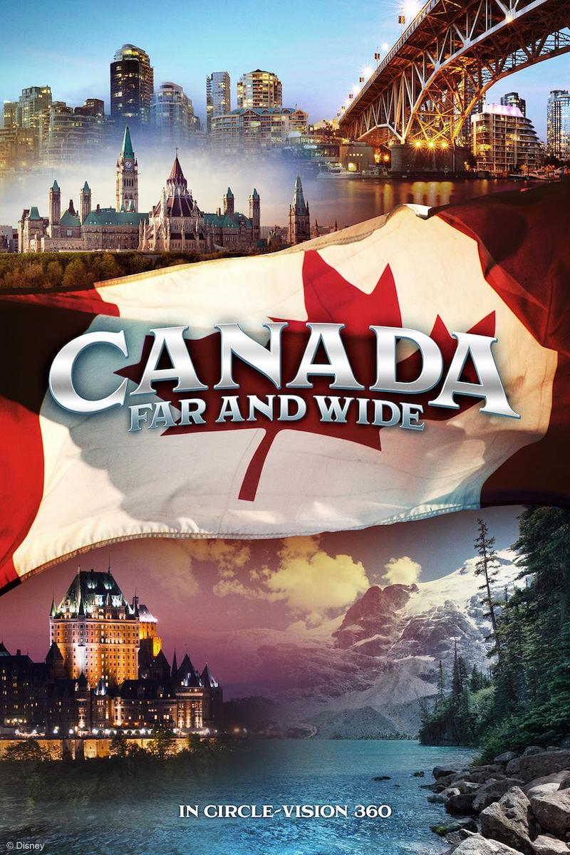 "Filme ""Canada Far and Wide"" no Epcot da Disney Orlando"
