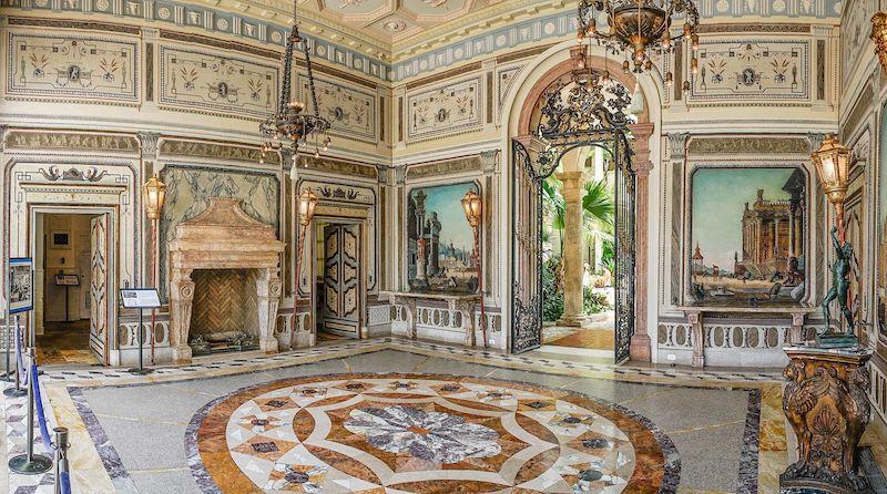 10 fatos sobre o Vizcaya Museum and Gardens em Miami: interior