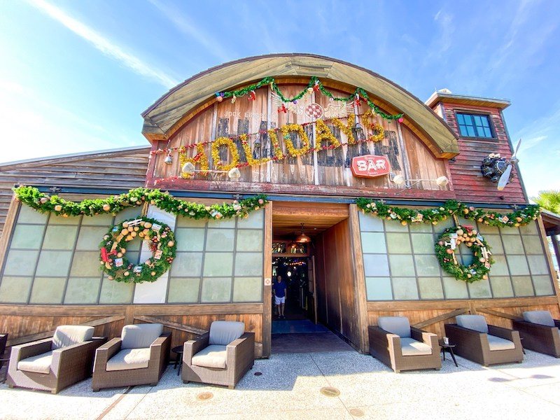 Jock Lindsey's Holiday Bar na Disney Springs em Orlando
