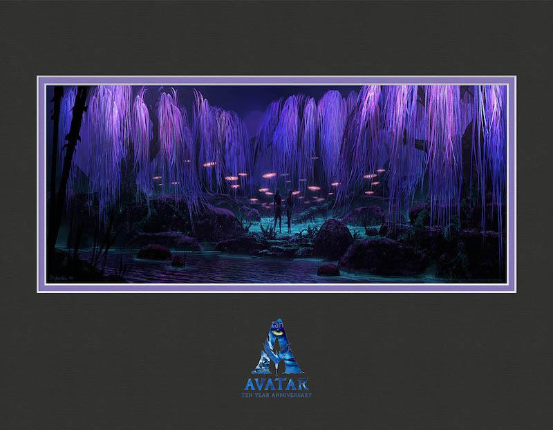 Novos produtos de Avatar na Disney Orlando: litografia