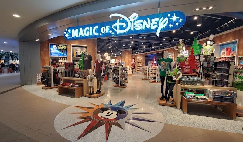 Loja Magic of Disney no Aeroporto Internacional de Orlando