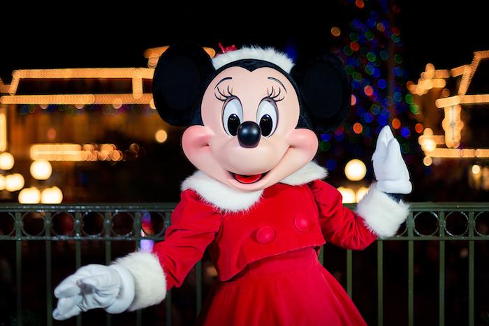 Minnie's Wonderful Christmastime Fireworks Show na Disney Orlando: Minnie