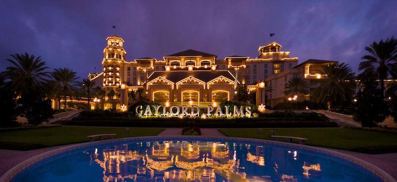 Natal em Orlando em 2019: hotel Gaylord Palms Resort
