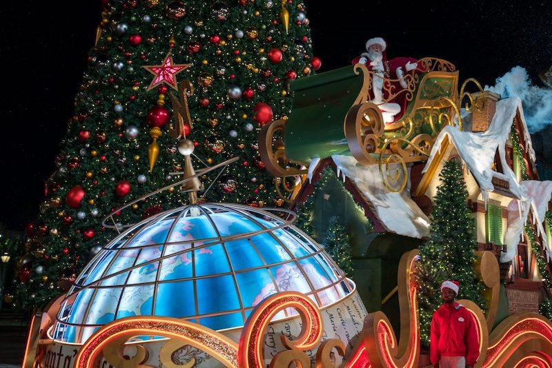 Natal na Universal Orlando em 2019