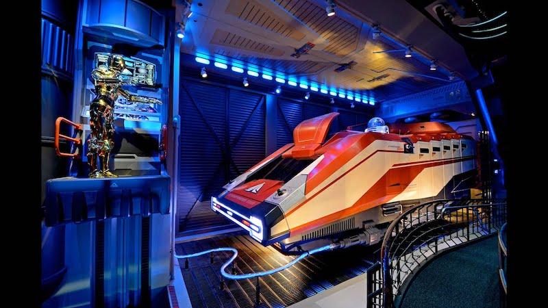 Novidades no Star Tours no Hollywood Studios da Disney Orlando: nave espacial