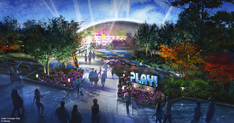 Parque Epcot da Disney Orlando: Play! Pavilion na World Discovery